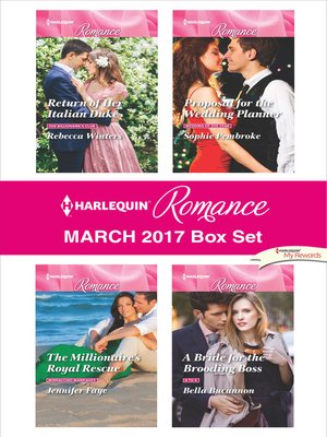 cover image of Harlequin Romance March 2017 Box Set
