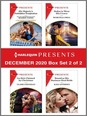 cover image of Harlequin Presents--December 2020--Box Set 2 of 2