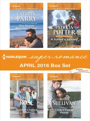 cover image of Harlequin Superromance April 2016 Box Set