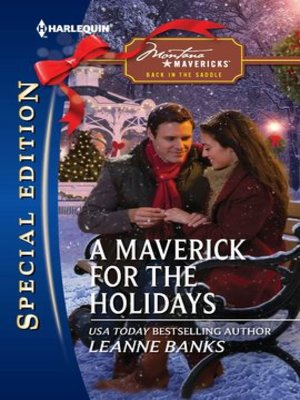 cover image of A Maverick for the Holidays