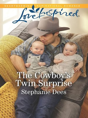 cover image of The Cowboy's Twin Surprise