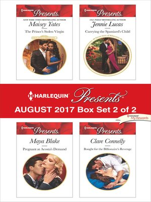 cover image of Harlequin Presents August 2017--Box Set 2 of 2