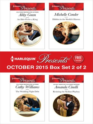 cover image of Harlequin Presents October 2015, Box Set 2 of 2