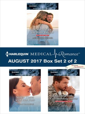 cover image of Harlequin Medical Romance August 2017--Box Set 2 of 2