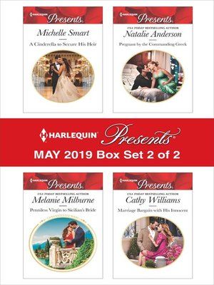 cover image of Harlequin Presents, May 2019, Box Set 2 of 2