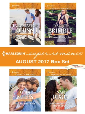 cover image of Harlequin Superromance August 2017 Box Set