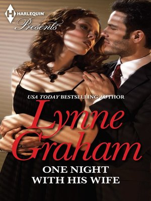 cover image of One Night with His Wife