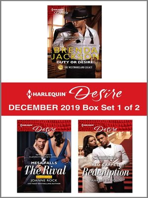 cover image of Harlequin Desire December 2019--Box Set 1 of 2