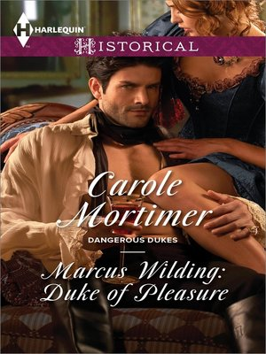 cover image of Marcus Wilding: Duke of Pleasure