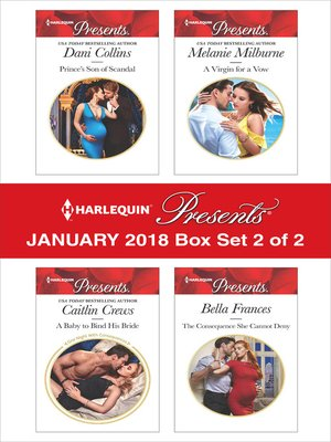 cover image of Harlequin Presents January 2018--Box Set 2 of 2