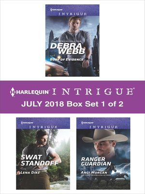cover image of Harlequin Intrigue July 2018--Box Set 1 of 2