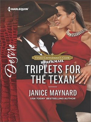cover image of Triplets for the Texan