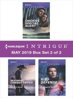 cover image of Harlequin Intrigue May 2018, Box Set 2 of 2
