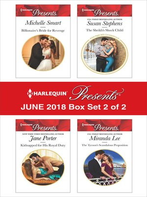 cover image of Harlequin Presents June 2018--Box Set 2 of 2