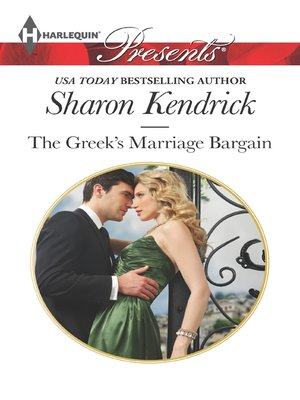 cover image of The Greek's Marriage Bargain