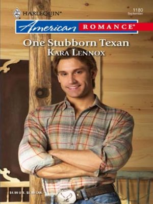 cover image of One Stubborn Texan