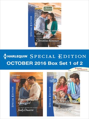cover image of Harlequin Special Edition October 2016, Box Set 1 of 2