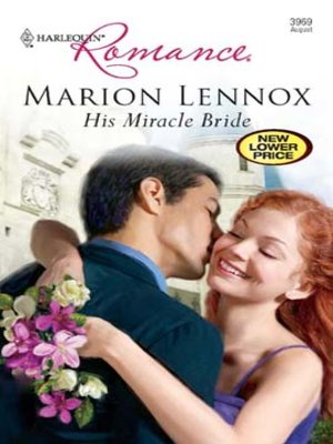 cover image of His Miracle Bride