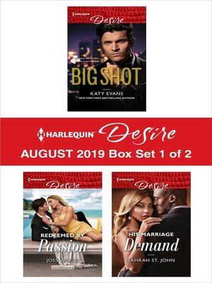 cover image of Harlequin Desire August 2019--Box Set 1 of 2