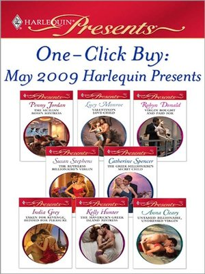 cover image of One-Click Buy: May 2009 Harlequin Presents