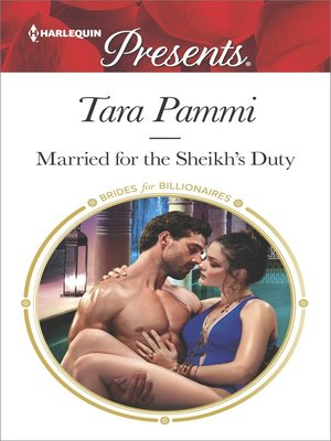 cover image of Married for the Sheikh's Duty