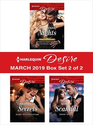 cover image of Harlequin Desire March 2019--Box Set 2 of 2