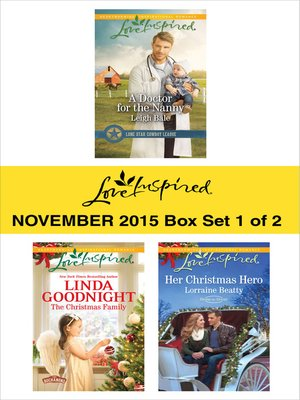 cover image of Love Inspired November 2015, Box Set 1 of 2
