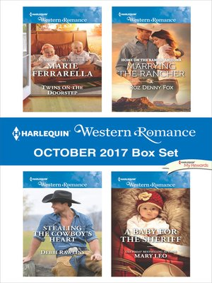 cover image of Harlequin Western Romance October 2017 Box Set