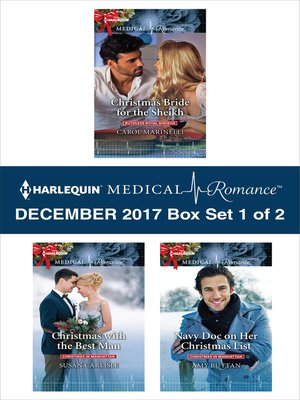 cover image of Harlequin Medical Romance December 2017--Box Set 1 of 2