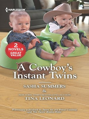 cover image of A Cowboy's Instant Twins