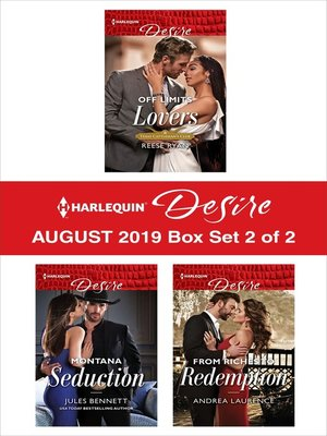 cover image of Harlequin Desire August 2019--Box Set 2 of 2