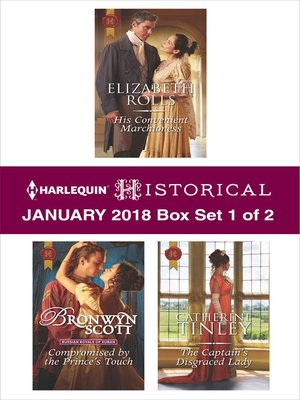cover image of Harlequin Historical January 2018--Box Set 1 of 2