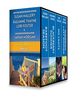 cover image of Summer Reads Box Set: Blackberry Summer ; Suddenly Last Summer ; No Limits ; Barefoot Summer