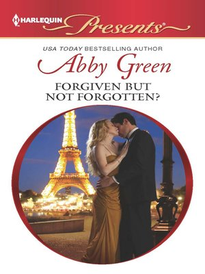 cover image of Forgiven but not Forgotten?