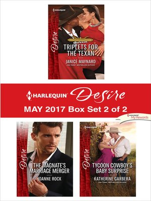 cover image of Harlequin Desire May 2017, Box Set 2 of 2