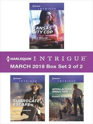 cover image of Harlequin Intrigue March 2018-- Box Set 2 of 2