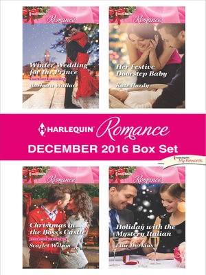 cover image of Harlequin Romance December 2016 Box Set