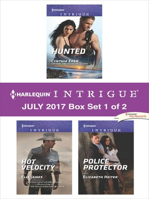 cover image of Harlequin Intrigue July 2017--Box Set 1 of 2