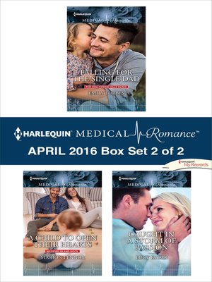 cover image of Harlequin Medical Romance April 2016, Box Set 2 of 2