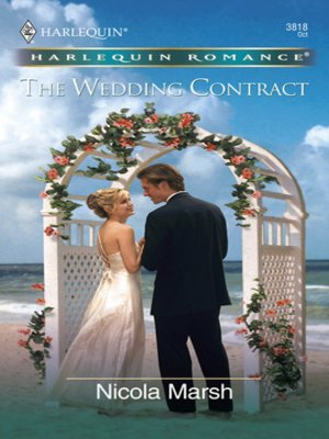 cover image of The Wedding Contract