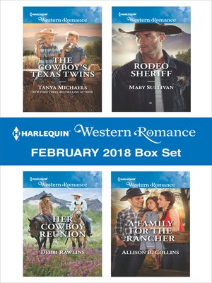 cover image of Harlequin Western Romance February 2018 Box Set