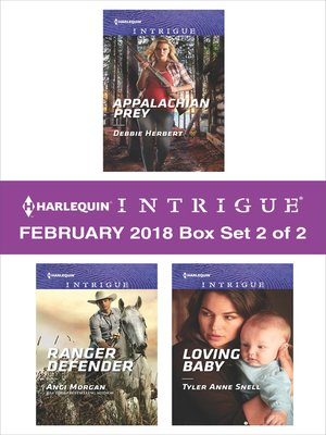 cover image of Harlequin Intrigue February 2018--Box Set 2 of 2