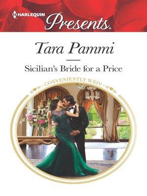 cover image of Sicilian's Bride for a Price