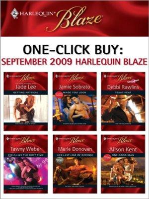 cover image of September 2009 Harlequin Blaze