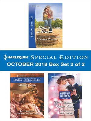 cover image of Harlequin Special Edition October 2018--Box Set 2 of 2