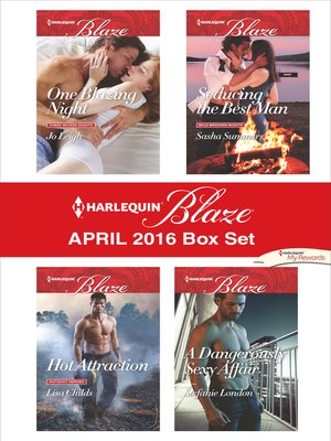 cover image of Harlequin Blaze April 2016 Box Set