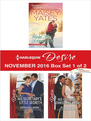 cover image of Harlequin Desire November 2016, Box Set 1 of 2