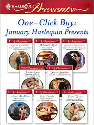 cover image of January 2009 Harlequin Presents