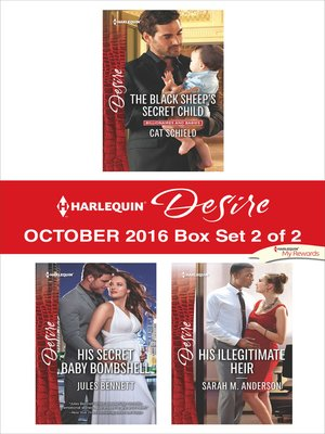 cover image of Harlequin Desire October 2016, Box Set 2 of 2
