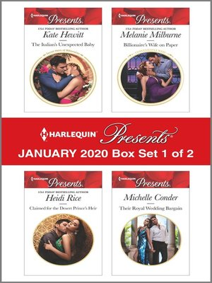 cover image of Harlequin Presents--January 2020--Box Set 1 of 2
